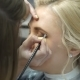 Makeup Artist Makes a Girl Beautiful Makeup Before an Important Event - VideoHive Item for Sale