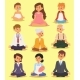 Lotus Position Yoga Pose Meditation Relax People - GraphicRiver Item for Sale
