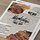Hipster Menu - GraphicRiver Item for Sale