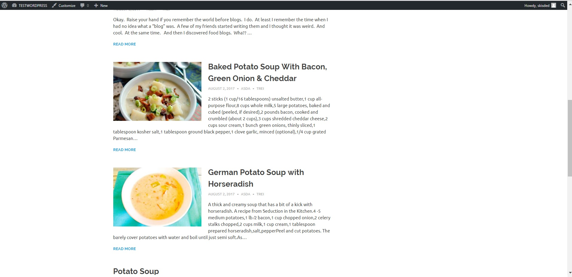 Yummomatic automatic recipe post generator plugin for wordpress by screenshotsex1g forumfinder Gallery