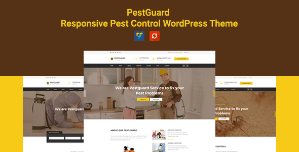 Image of PestGuard - Responsive Pestcontrol WordPress Theme