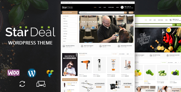 Star Deal - Multipurpose WooCommerce Theme - WooCommerce eCommerce