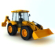 JCB ( High Poly Model )