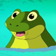 Frog in the Small Pond UHD - VideoHive Item for Sale
