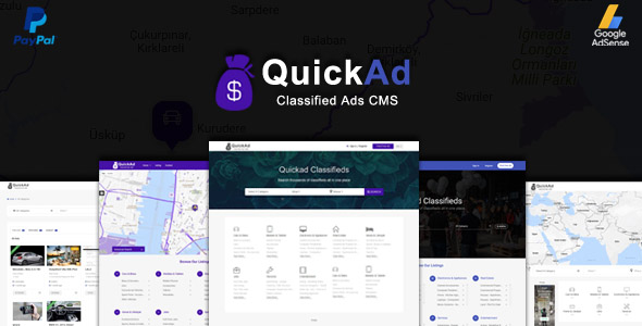 ­Classified Ads CMS - Quickad nulled free download