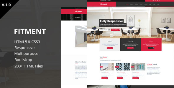 Fitment - Multipurpose HTML5 Template