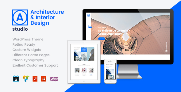 A.Studio | Interior Design and Architecture WordPress Theme - Business Corporate
