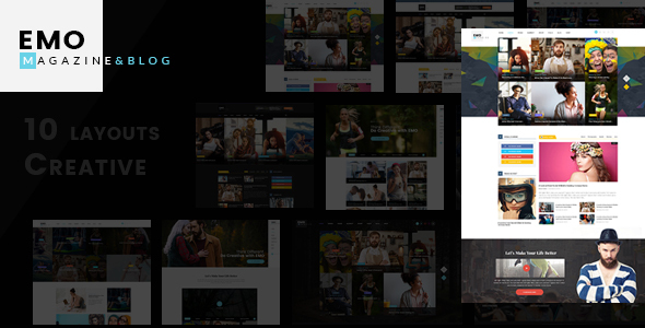 EMO - Ultimate Magazine & News WordPress Theme