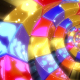 Colorful Glow Abstract Spiral