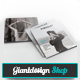 Kingsley Square Portfolio Brochure - GraphicRiver Item for Sale