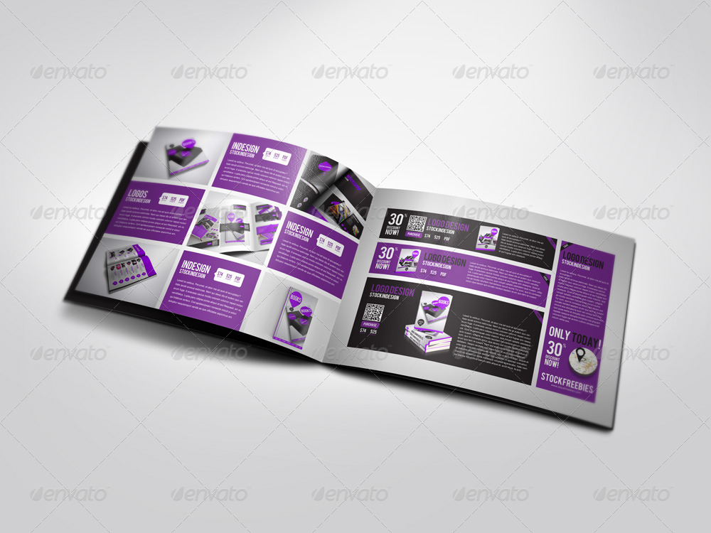 Showroom flexible product catalog by stockindesign graphicriver for Stock indesign