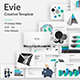 Evie Creative Google Slide Template