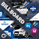 Rent A Car Billboard Templates - GraphicRiver Item for Sale