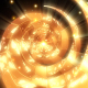 Gold Glow Spiral - VideoHive Item for Sale