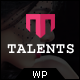 Talents - WordPress Theme for Talent Agency - ThemeForest Item for Sale