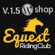Equestrian - Horses and Stables, Riding Club WordPress Theme