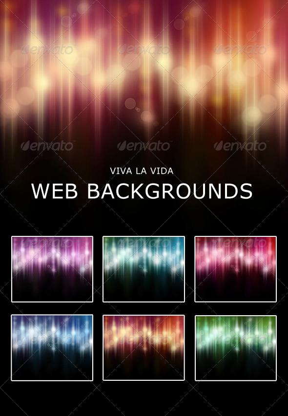 Viva La Vida Web Backgrounds - Backgrounds Graphics