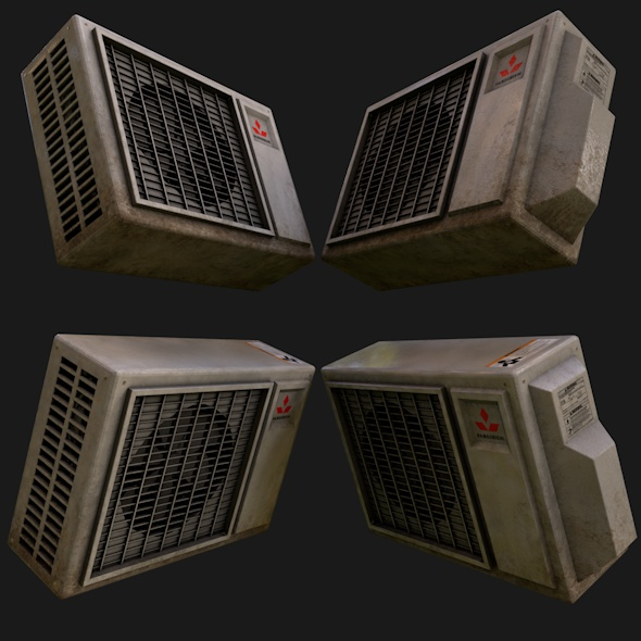 3DOcean Air Conditioning Unit 20433660