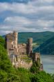 Rheinstein Castle at Rhine Valley (Rhine Gorge) in Germany - PhotoDune Item for Sale