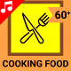 Cooking Food Icons - VideoHive Item for Sale
