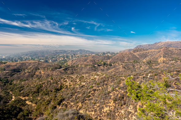 Griffith Park and Hollywood, Los Angeles, California