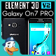 Samsung Galaxy On7 PRO for Element 3D - 3DOcean Item for Sale