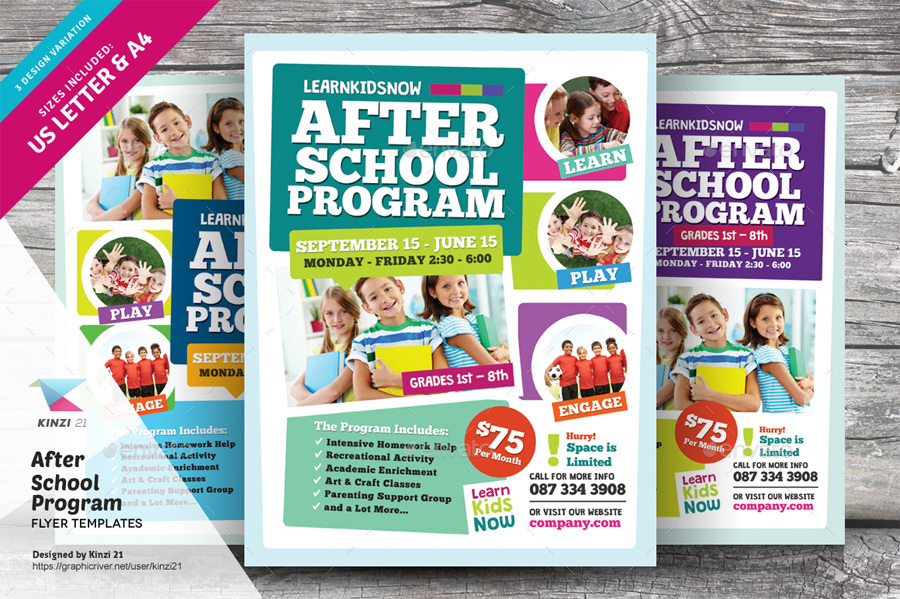 After school program flyer templates by kinzi21 graphicriver new screenshots01graphic river after school program flyer templates kinzi21g saigontimesfo