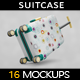 Bag Suitcase Travel MockUp