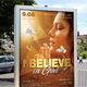 Believe In God Poster - GraphicRiver Item for Sale
