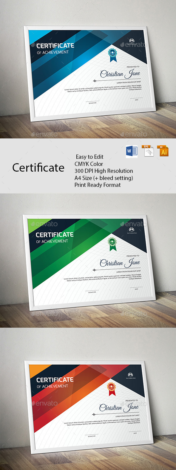 Certificate - Certificates Stationery