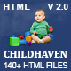 ChildHaven - Kids School & Kinder Garten HTML5 Template - ThemeForest Item for Sale