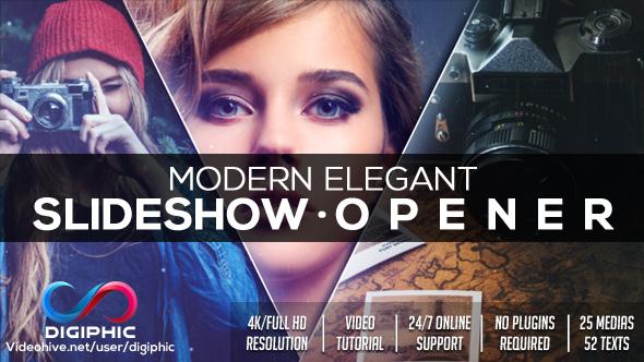 Modern Elegant Slideshow Opener