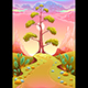 Astral Landscape in the Sunset - GraphicRiver Item for Sale