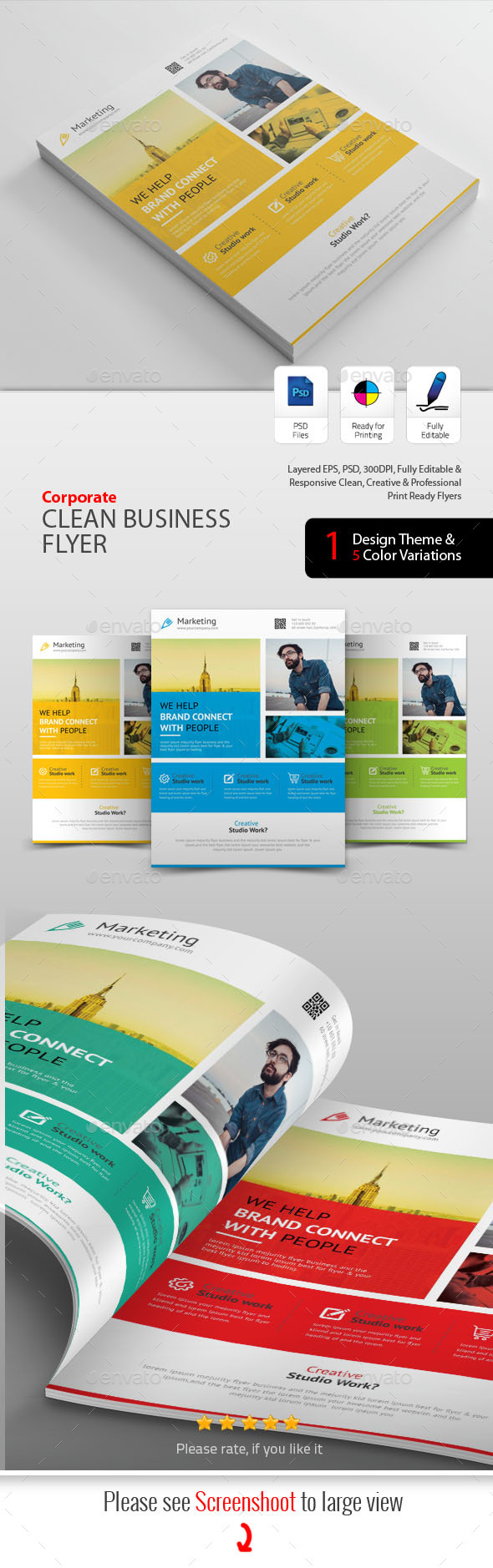 GraphicRiver Business Flyers 20435040