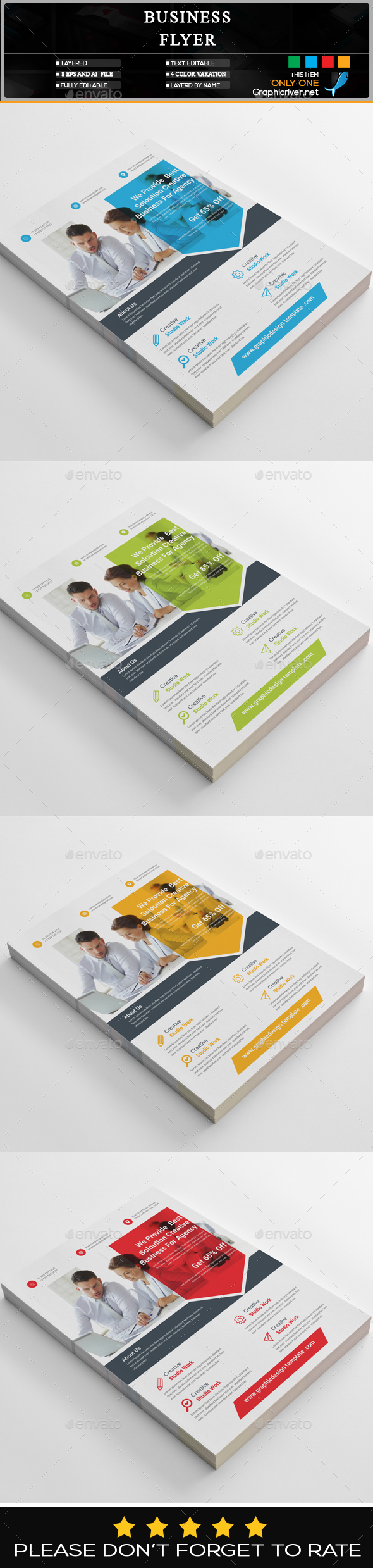 GraphicRiver Business Flyer 20435450