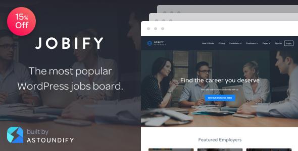 20+ Best WordPress Job Board Themes to Build Job Websites 2019 4
