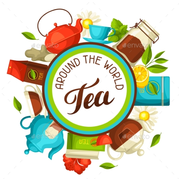 Tea Around the World - Food Objects