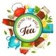 Tea Around the World - GraphicRiver Item for Sale