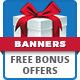 Freebie Bonus Offer Banners - GraphicRiver Item for Sale