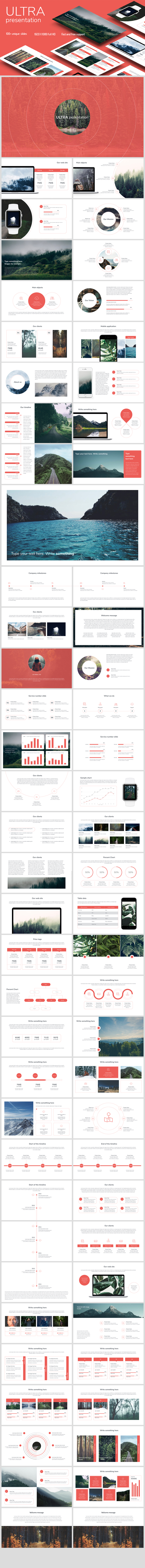 Clean Google Slides Template - Google Slides Presentation Templates