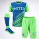 Soccer Football Team Uniform Mock-Up