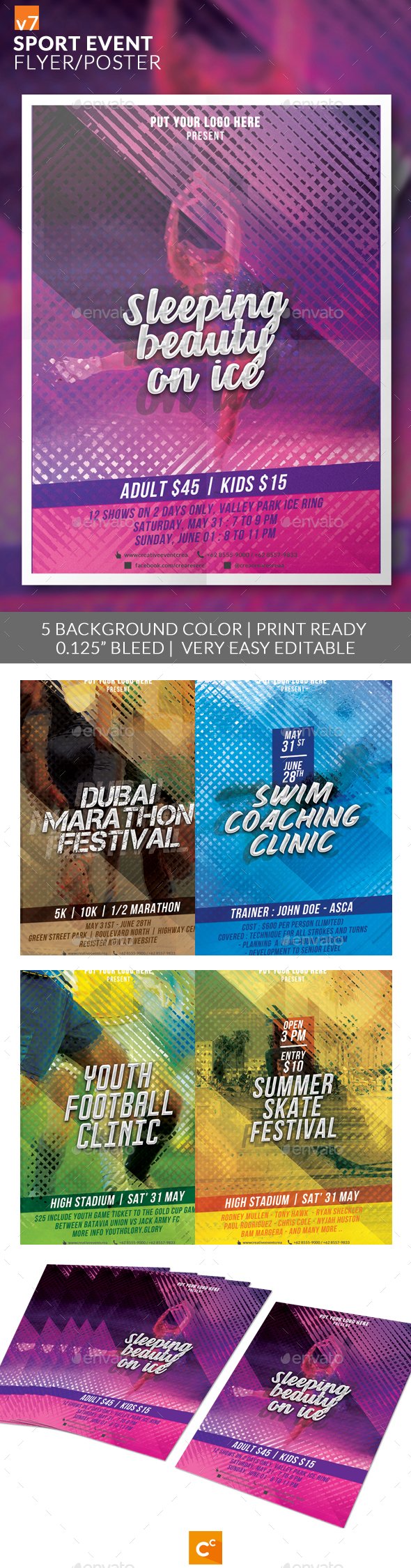 Sport Event Flyer/Poster v7 - Sports Events