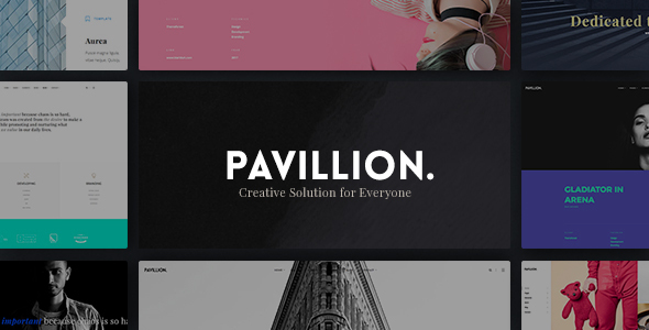 Pavillion - Creative Multi-Purpose WordPress Theme