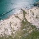 Aerial View Ocean Coastal Landscape - VideoHive Item for Sale