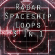 Radar Spaceship Background 3 Loops In 1