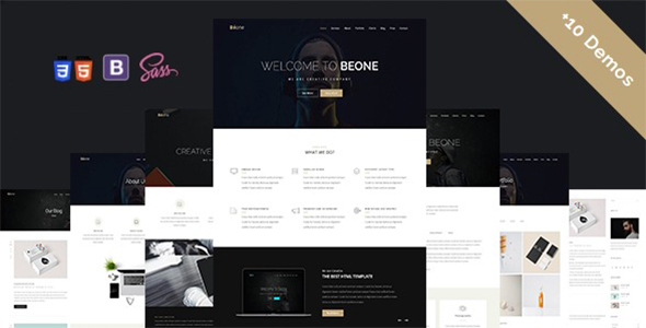 Béone - Creative Multi-Purpose Template - Creative Site Templates