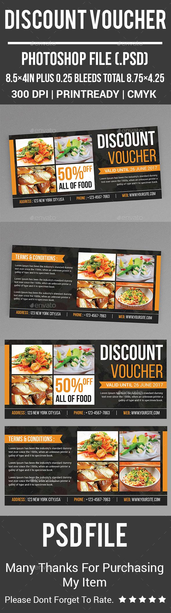 GraphicRiver Discount Voucher 20436599