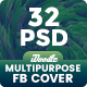 Multipurpose Facebook Timeline Cover - 32 PSD - GraphicRiver Item for Sale