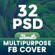 Multipurpose Facebook Timeline Cover - 32 PSD - GraphicRiver Item for Sale