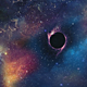 Wormhole in the Environment of Nebulae